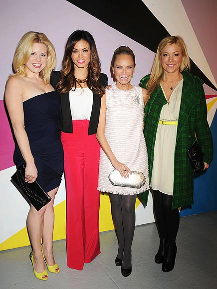 ALICE + OLIVIA PRESENTATION photo | Jenna Dewan, Jennifer Aspen, Kristin Chenoweth