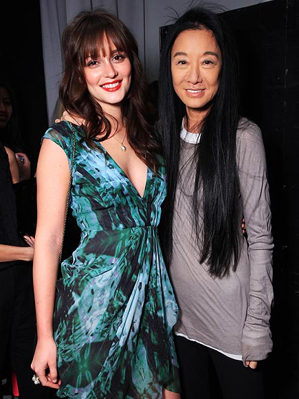 LEIGHTON MEESTER & VERA WANG photo | Leighton Meester