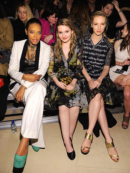 CYNTHIA ROWLEY FRONT ROW photo | Abigail Breslin