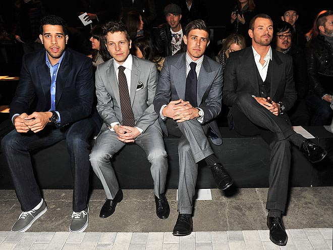 JOSEPH ABBOUD FRONT ROW photo | Kellan Lutz