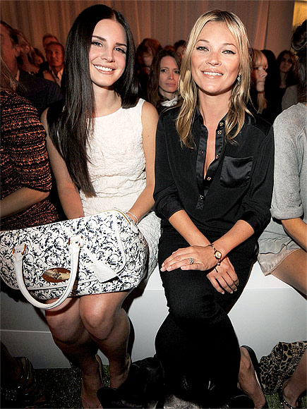 LANA DEL REY & KATE MOSS photo | Kate Moss, Lana Del Rey
