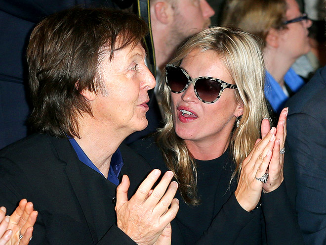 PAUL MCCARTNEY & KATE MOSS photo | Kate Moss, Paul McCartney