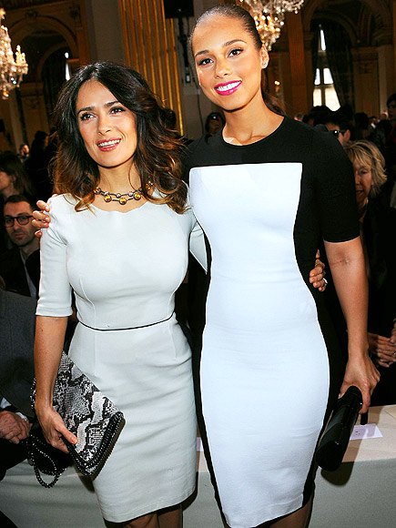 SALMA HAYEK & ALICIA KEYS photo | Alicia Keys, Salma Hayek