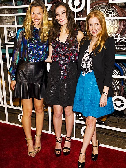 TARGET PARTY photo | Brooklyn Decker, Hailee Steinfeld, Jessica Chastain