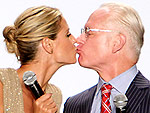 Day 2: Heidi & Tim Pucker Up | Heidi Klum, Tim Gunn