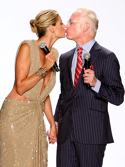 HEIDI KLUM & TIM GUNN photo | Heidi Klum, Tim Gunn