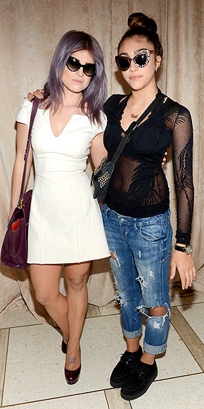KELLY OSBOURNE & LOURDES LEON photo | Kelly Osbourne, Lourdes Leon