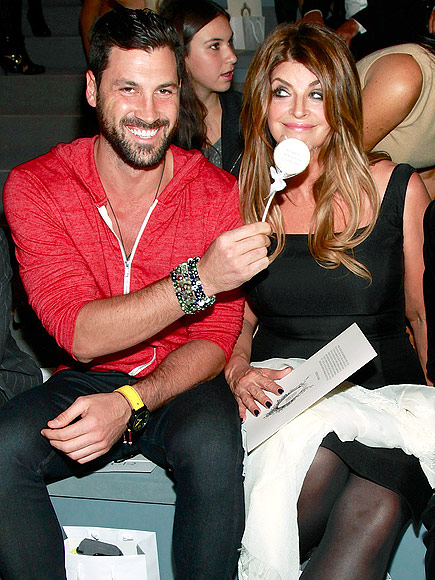 MAKSIM CHMERKOVSKIY & KIRSTIE ALLEY photo | Kirstie Alley, Maksim Chmerkovskiy