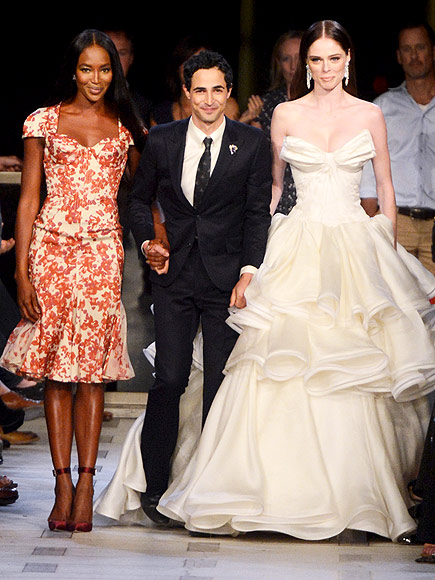ZAC POSEN RUNWAY photo | Coco Rocha, Naomi Campbell, Zac Posen