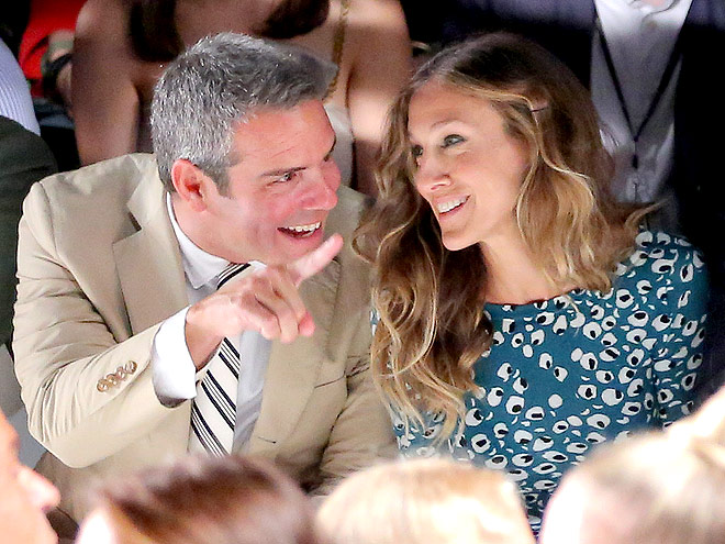 ANDY COHEN & SARAH JESSICA PARKER photo | Andy Cohen, Sarah Jessica Parker