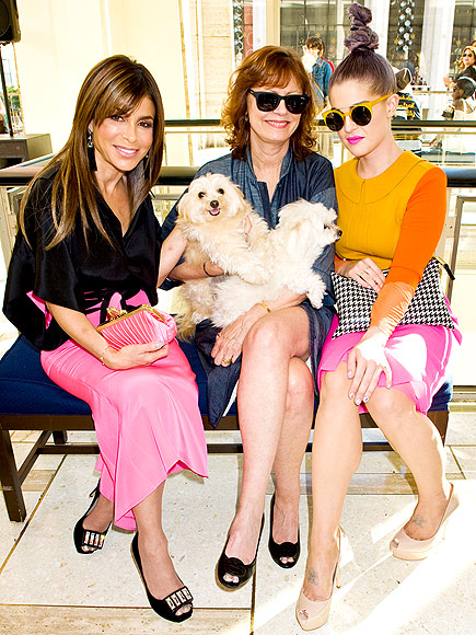CHRIZ BENZ SHOW photo | Kelly Osbourne, Paula Abdul, Susan Sarandon