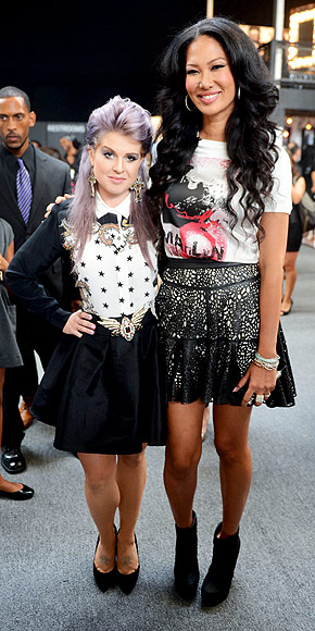 KELLY OSBOURNE & KIMORA LEE SIMMONS photo | Kelly Osbourne, Kimora Lee Simmons