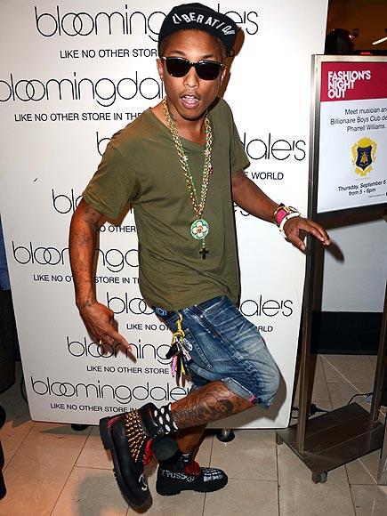 Pharrell Without Tattoos Pharrell williams photo