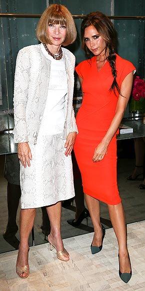 ANNA WINTOUR & VICTORIA BECKHAM photo | Anna Wintour, Victoria Beckham