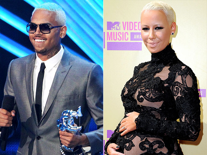 CHRIS & AMBER photo | Chris Brown, Amber Rose
