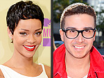 VMA Hair Twins! | Rihanna, Vinny Guadagnino