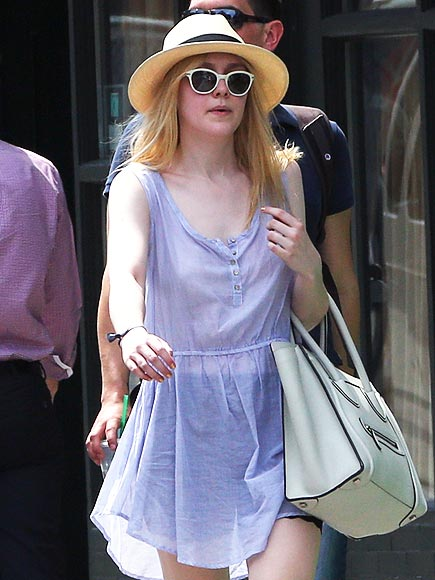 PANAMA HAT photo | Dakota Fanning