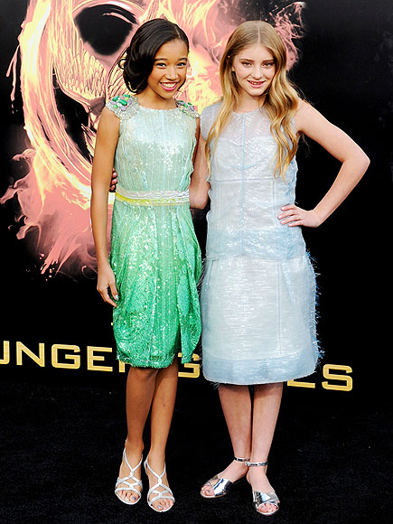 AMANDLA STENBERG & WILLOW SHIELDS photo | Amandla Stenberg, Willow Shields