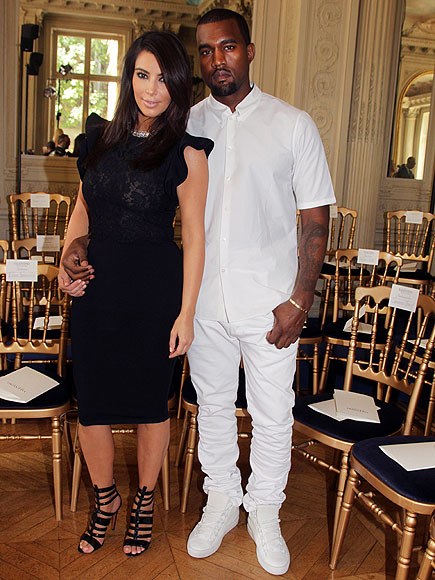 MONOCHROMATIC & MONOGAMOUS photo | Kanye West, Kim Kardashian