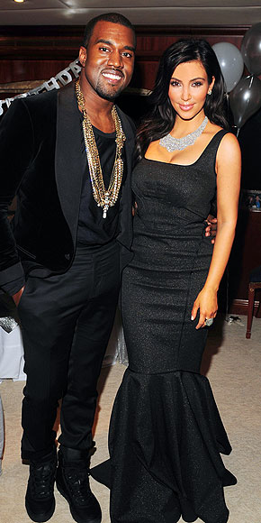 BLACK OUT, BLINGED OUT photo | Kanye West, Kim Kardashian