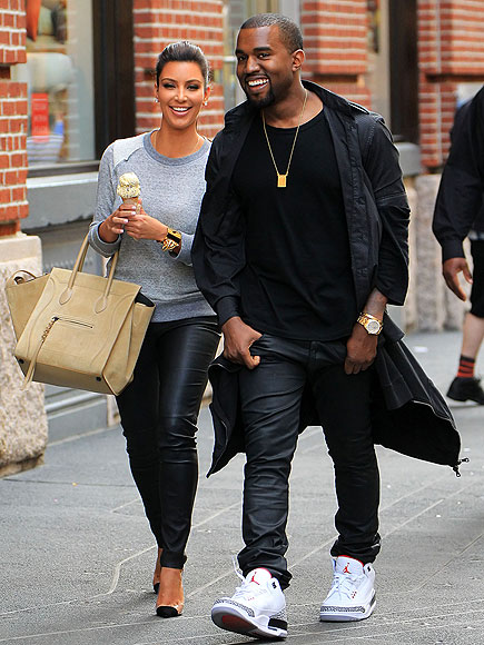 IN LOVE & IN LEATHER photo | Kanye West, Kim Kardashian