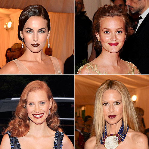 DRAMATICALLY DARK LIPS