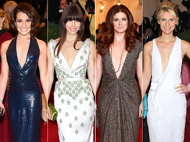 SERIOUSLY PLUNGING V-NECKLINES