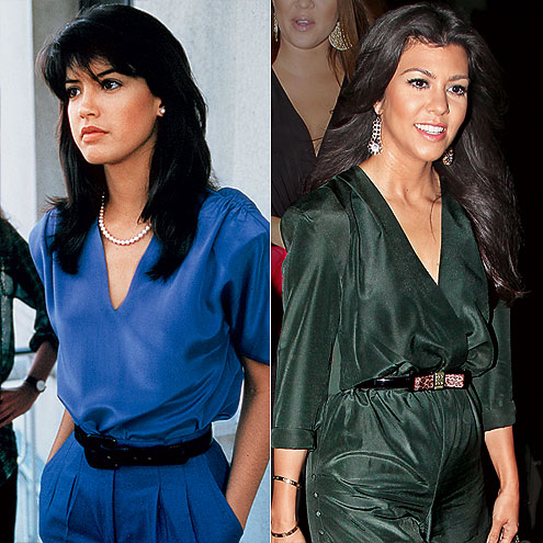 SILKY SENSATIONS photo | Kourtney Kardashian, Phoebe Cates