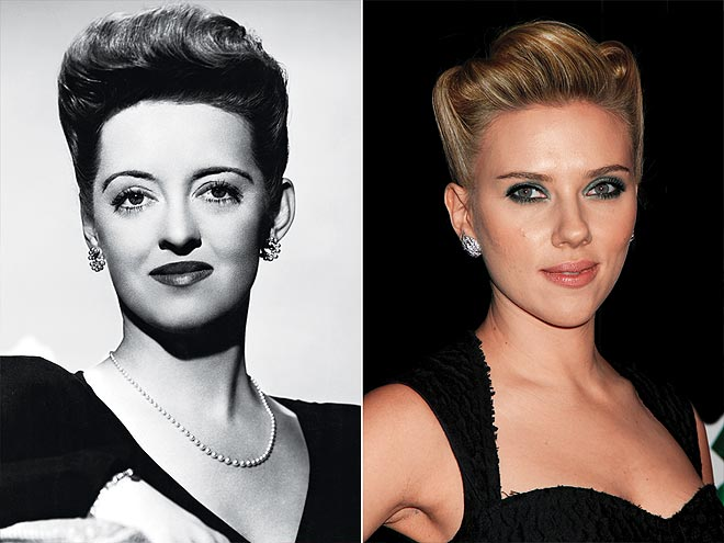 SCULPTED UPDOS photo | Bette Davis, Scarlett Johansson