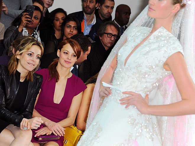 ELIE SAAB FRONT ROW photo | Berenice Bejo