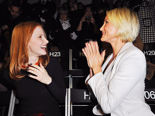 JESSICA & CAMERON  photo | Cameron Diaz, Jessica Chastain