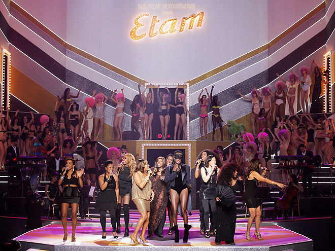 ETAM RUNWAY SHOW photo | The Pointer Sisters, Chaka Khan, Grace Jones
