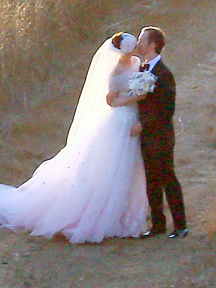 Celeb Brides Who Think Pink ... Dresses!