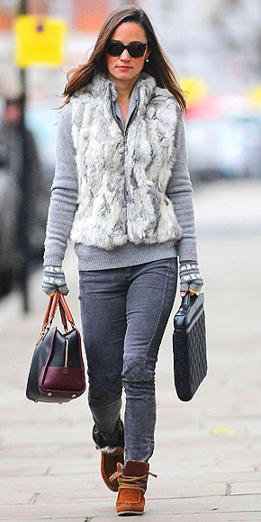 THE FUR FLIES photo | Pippa Middleton