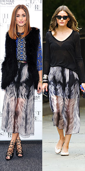 OLIVIA PALERMO'S SKIRT photo | Olivia Palermo