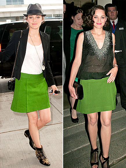 MARION COTILLARD'S SKIRT photo | Marion Cotillard