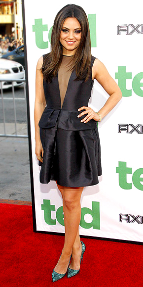 OUTSTANDING ACHIEVEMENT BY AN LBD photo | Mila Kunis