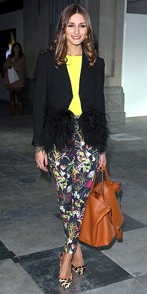 PRINTED PANTS photo | Olivia Palermo