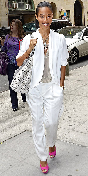 BRIGHT WITH WHITE photo | Jada Pinkett Smith
