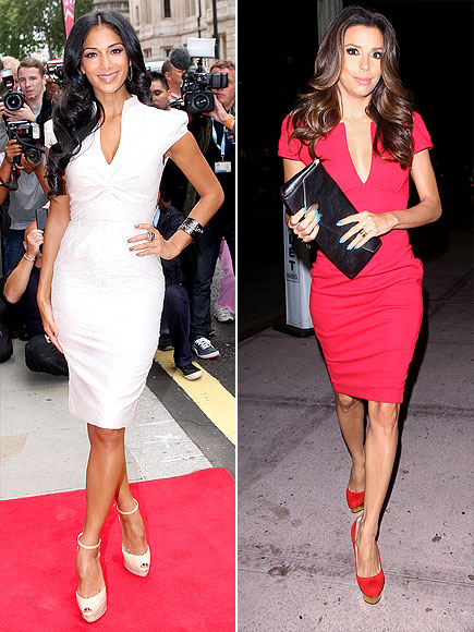 V-NECK SHEATHS photo | Eva Longoria, Nicole Scherzinger