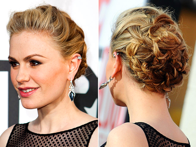 THE INTRICATE UPDO photo | Anna Paquin
