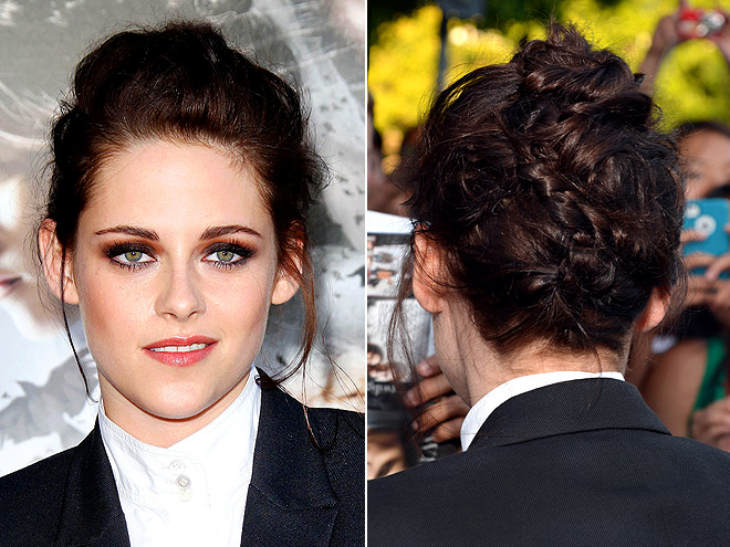 THE BRAIDED TWISTS photo | Kristen Stewart