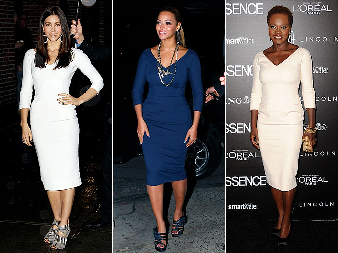 BEYONC&#201;, VIOLA & JESSICA photo | Beyonce Knowles, Jessica Biel, Viola Davis