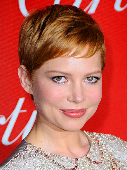 STRAWBERRY HONEY-BLONDE HAIR photo | Michelle Williams