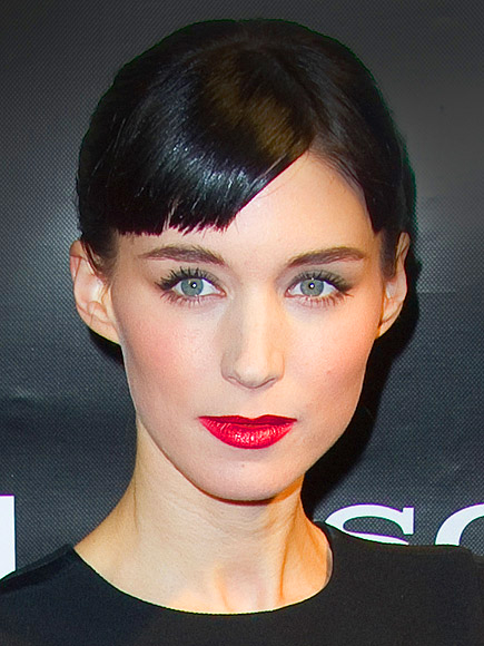 SEVERE BANGS – WITH A PART photo   Rooney Mara