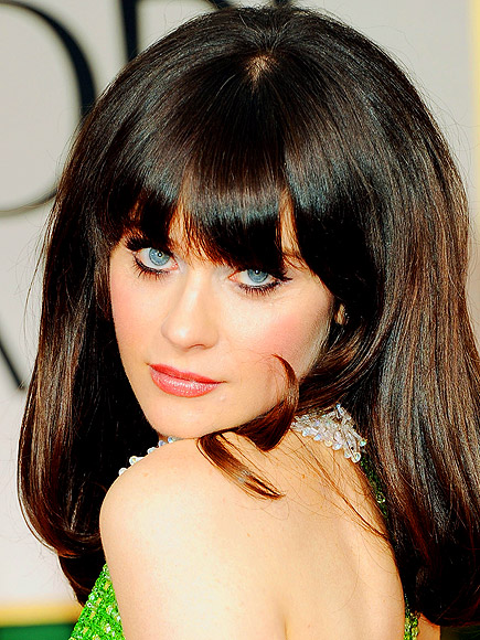 ZOOEY'S EYELINER photo | Zooey Deschanel