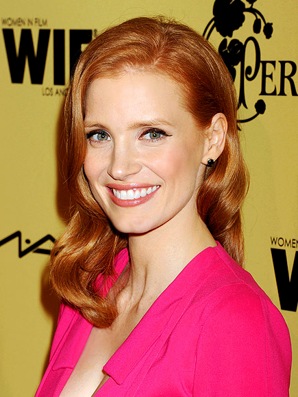 GET GLOSSED OVER photo | Jessica Chastain