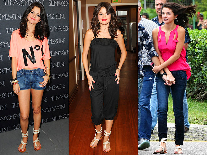 COCOBELLE SANDALS photo | Selena Gomez