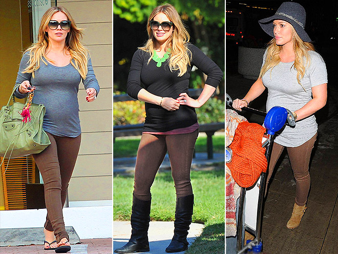 PEA IN THE POD PANTS photo | Hilary Duff