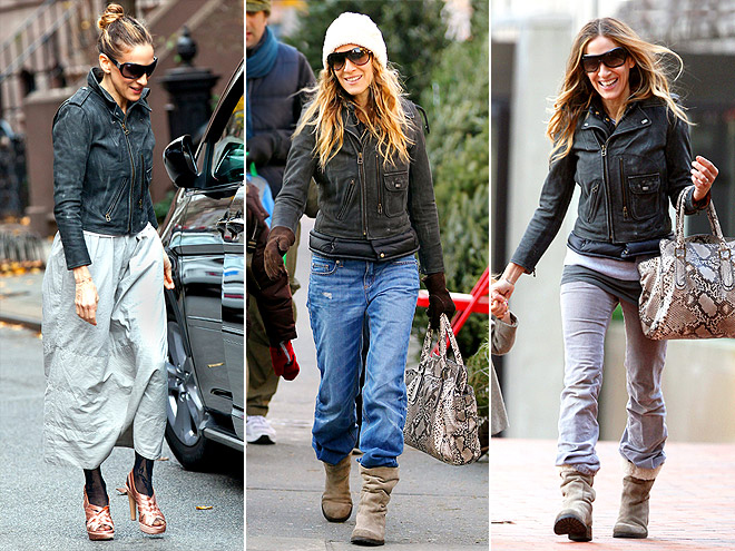 MIH LEATHER JACKET photo | Sarah Jessica Parker